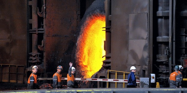 FRANCE-ECONOMY-INDUSTRY-ARCELORMITTAL