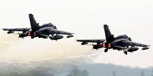 RAF Tornado fighter jets