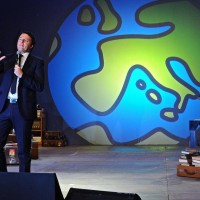 Italian PM Renzi at convention 'Leopolda'