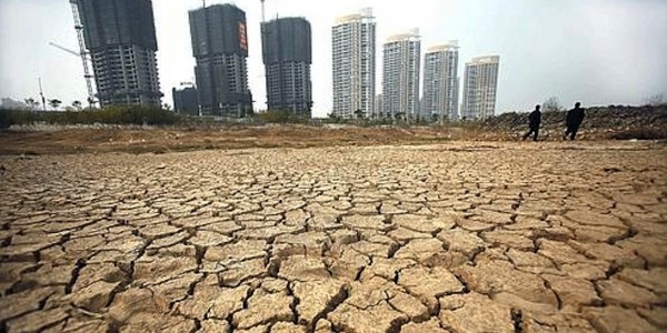 CHINA-ENVIRONMENT-DROUGHT