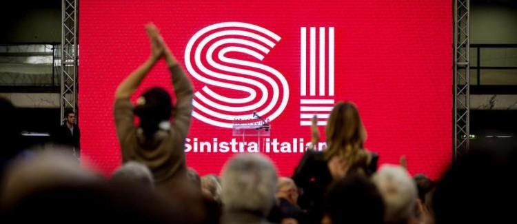 Roma 21/02/2016, giornata conclusiva di ' Cosmopolitica ' convention dei movimenti e dei partiti della sinistra, organizzata da SI Sinistra Italiana. Nella foto